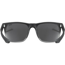 UVEX LGL 42 Brille black transparent/mirror silver